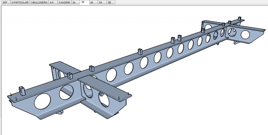 Progettazione strutturale con sketchup: trave metallica