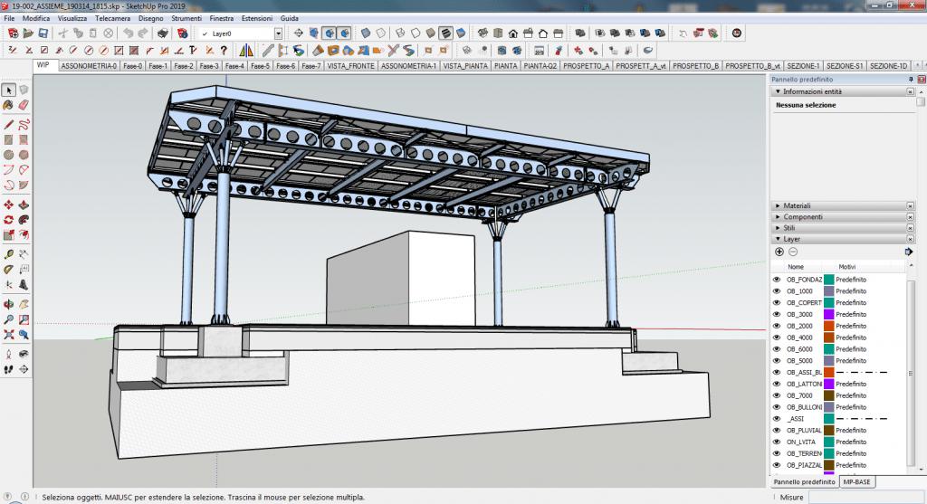 Progettazione strutturale con sketchup