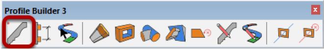 Barra degli strumenti di Profile Builder 3