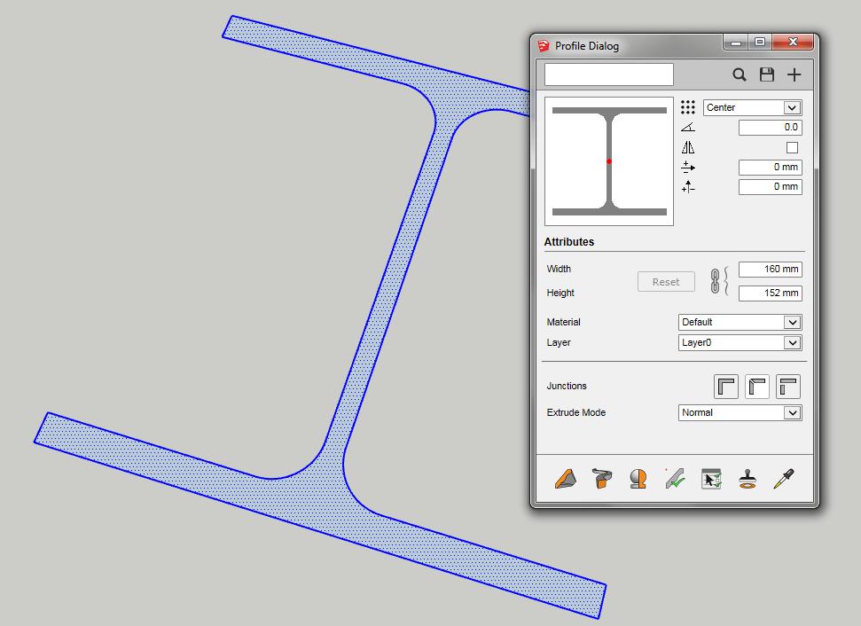 Creazione di una nuovo profilo in Profile Builder 3
