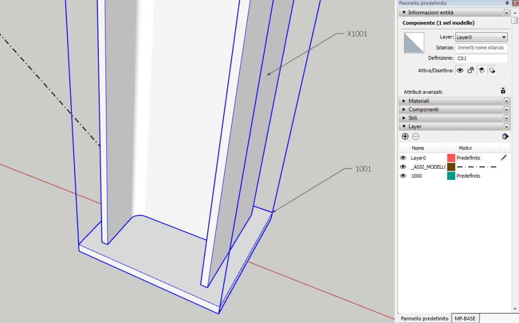 Modellazione della colonna - 4