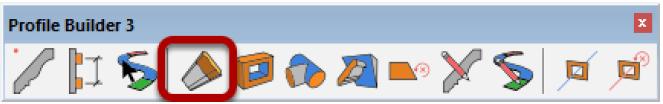Figura 4, La barra degli strumenti di Profile Builder 3