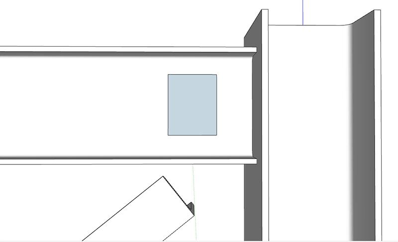 Figura 9, come creare il piatto verticale