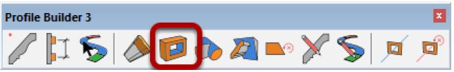 Figura 13, La barra degli strumenti di Profile Builder 3