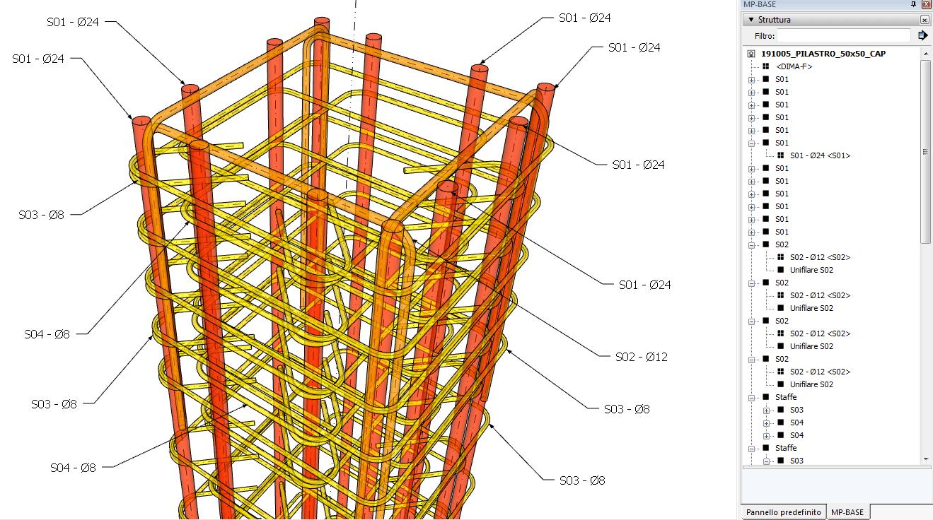 Figura 5 - la gabbia completa