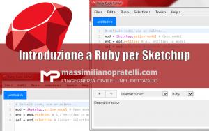 Introduzione a Ruby per Sketchup