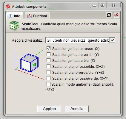 Figura 5 - Impostazione dell'attributo ScaleTool