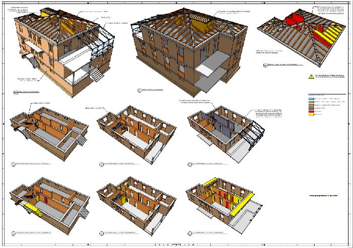 Figura 3 - Uso di Sketchup per gli interventi su strutture esistenti